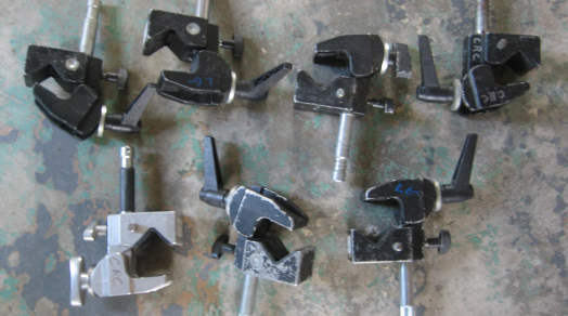 (7x) Mafer Clamps with Baby pin